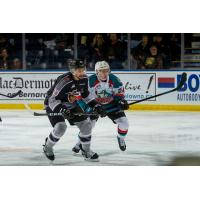 Kelowna Rockets face the Vancouver Giants